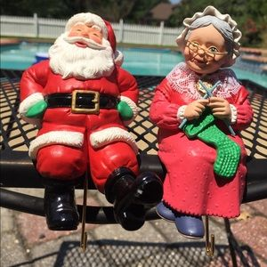 COPY - Vintage Hallmark Stocking Hanger Mr & Mrs …